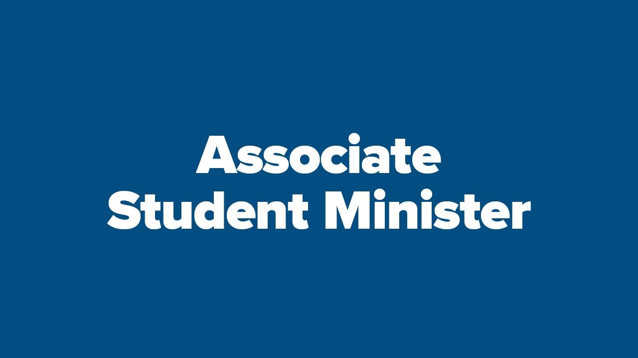 Frazer Seeks Associate Student Minister