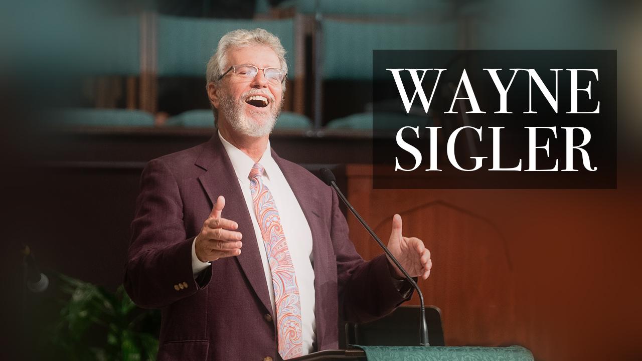 Wayne Sigler Announcement