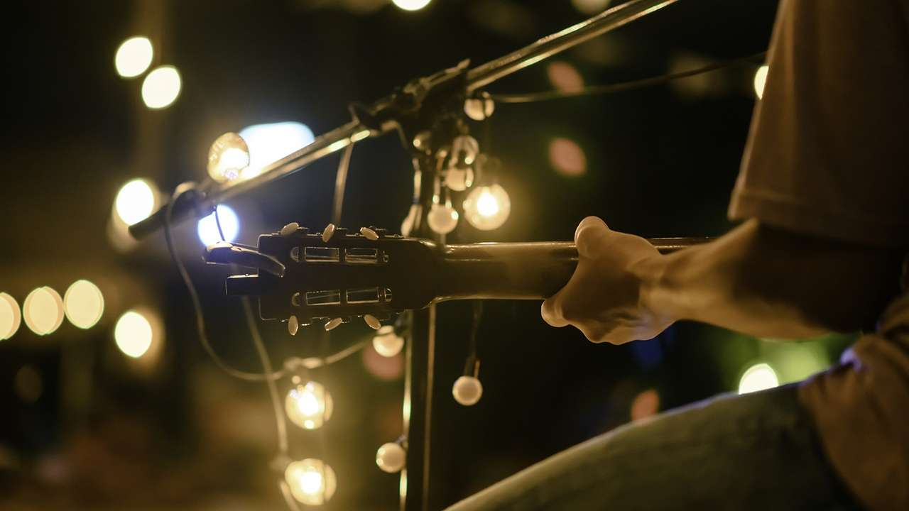 Acoustic Stock Image 720