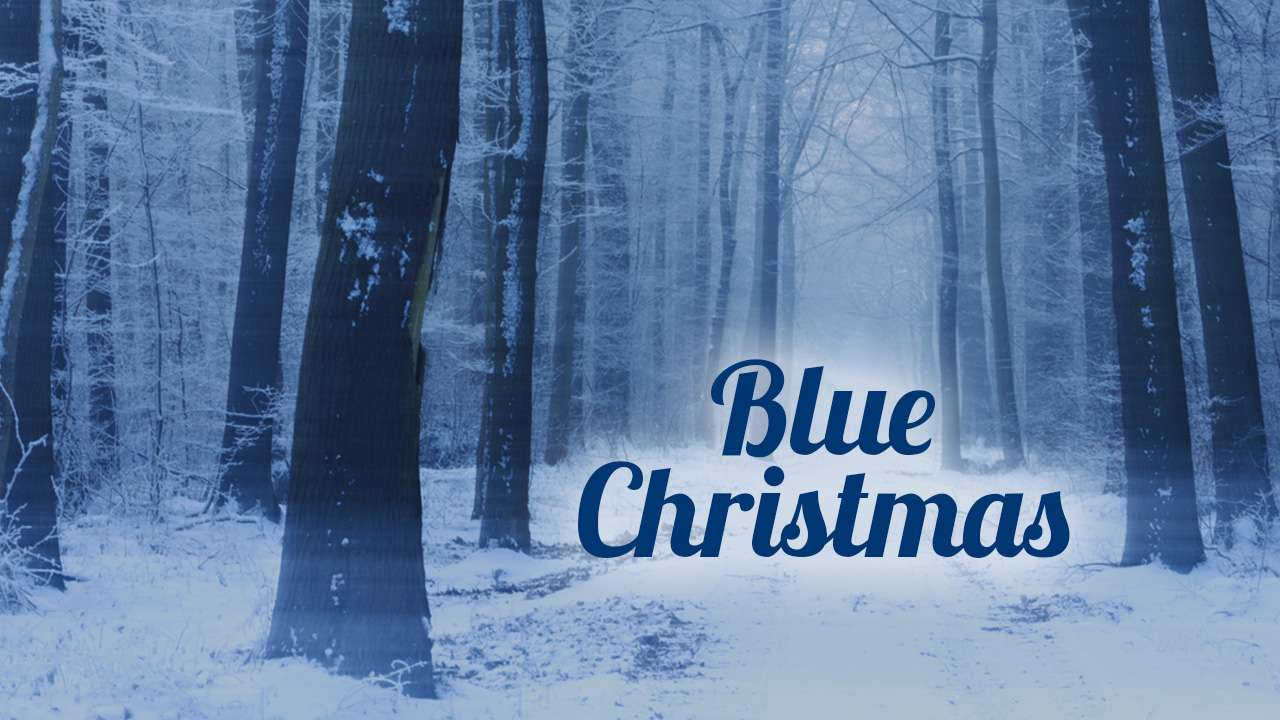 Blue Christmas Web