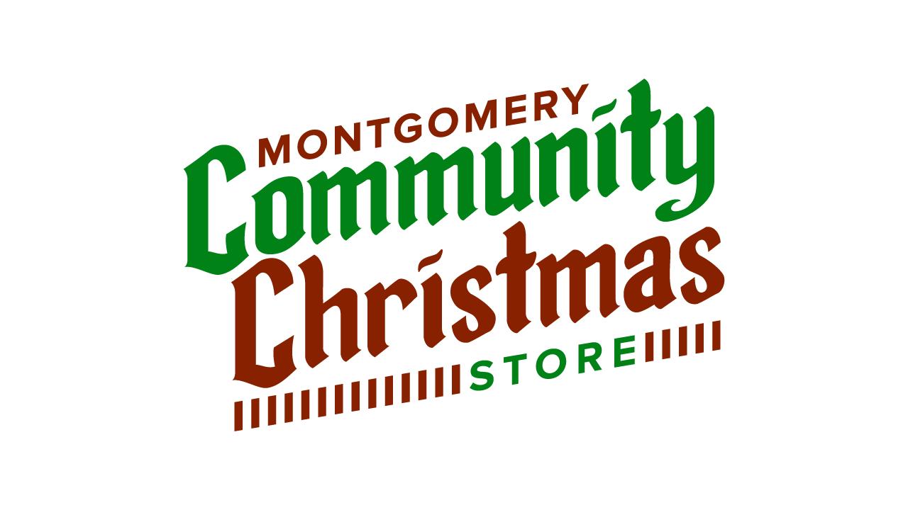 Montgomery Community Christmas Store Slide Logo