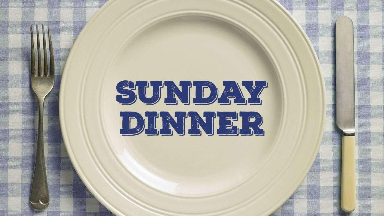 Sunday Dinner Fundraiser Web