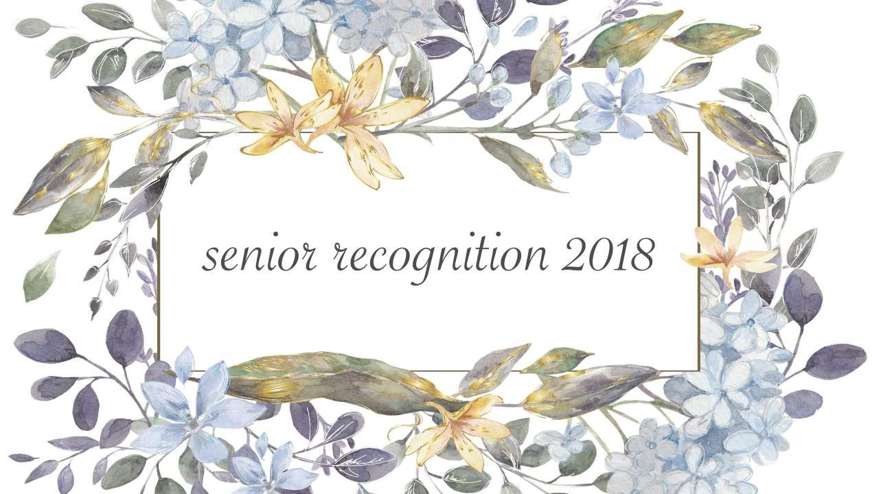 Senior Rec 2018