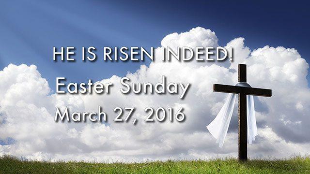 Easter Sunday Sermon Series