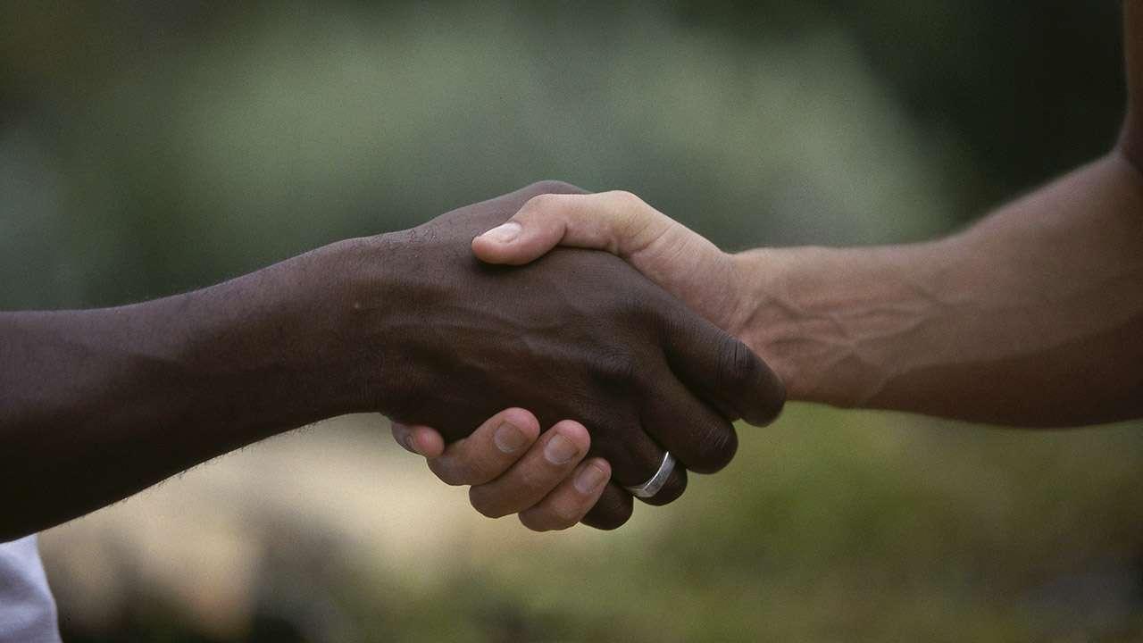 New Member Handshake