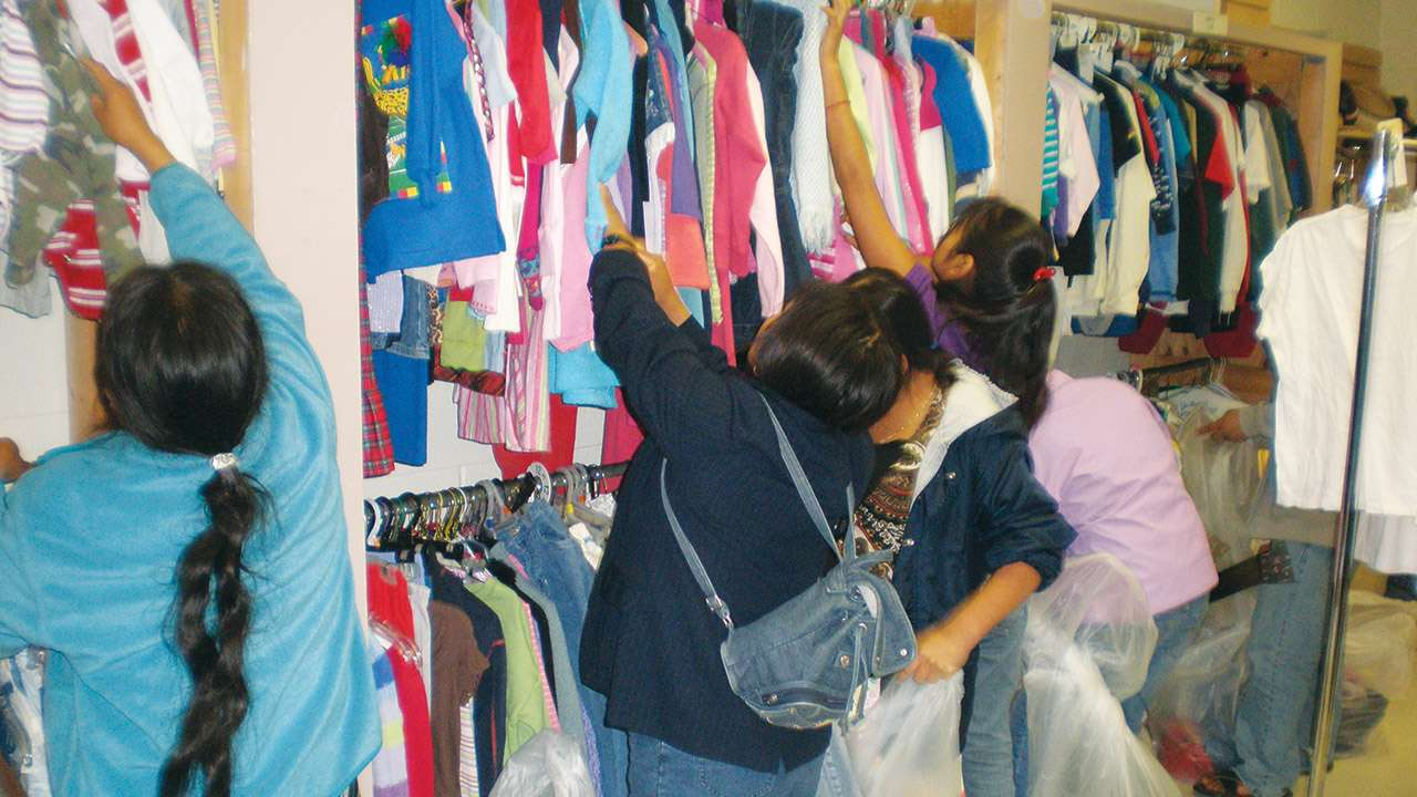 Clothes Closet Helper Frazer UMC